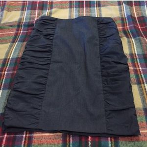Cartonnier Rouched Pencil Skirt